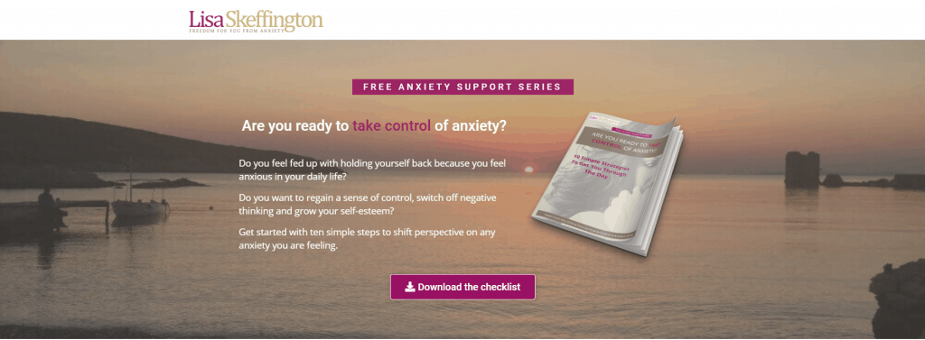 Lisa Skeffington Anxiety Support