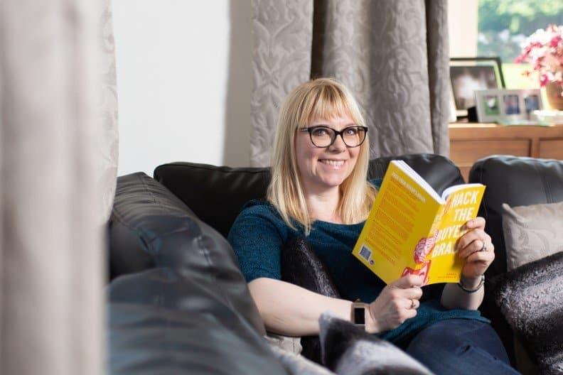 Imogen Allen reading Hack the Buyer Brain
