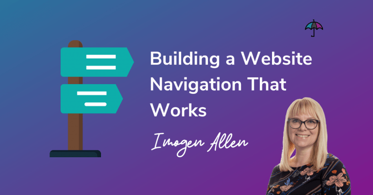 Building a Website Navigation That Works